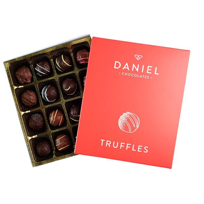 Assorted chocolate truffle box 16pc