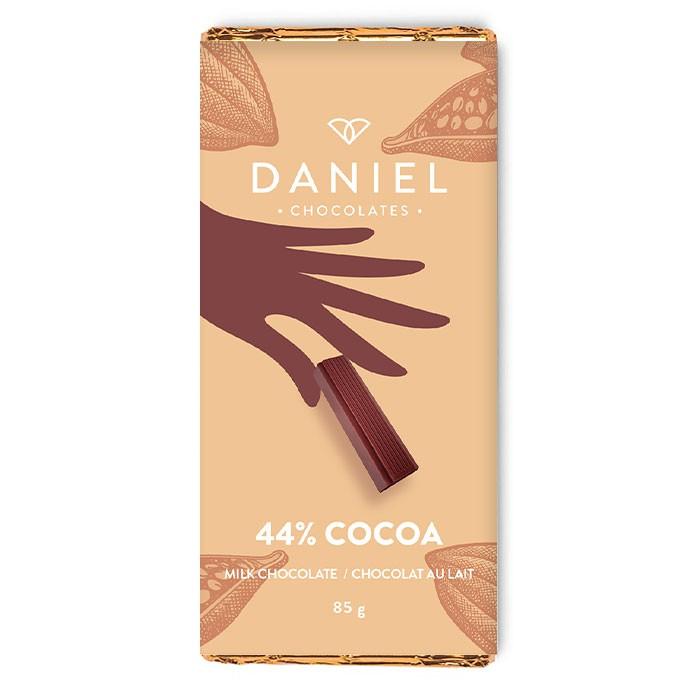 44% milk chocolate bar 85g