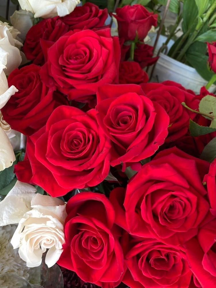 Ramo grande de rosas rojas 12 varas