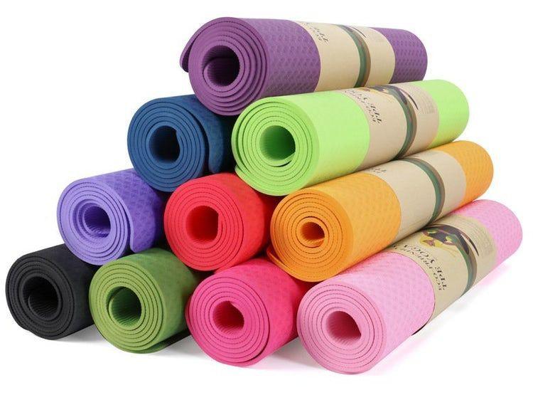 Mat yoga tpe 8 mm