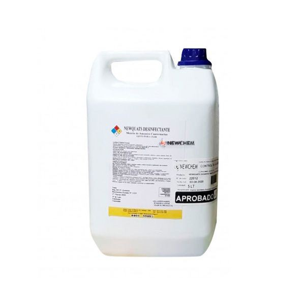 Amonio cuaternario 5 Litros