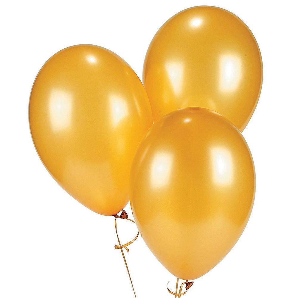 Globo metalizado #9 dorado