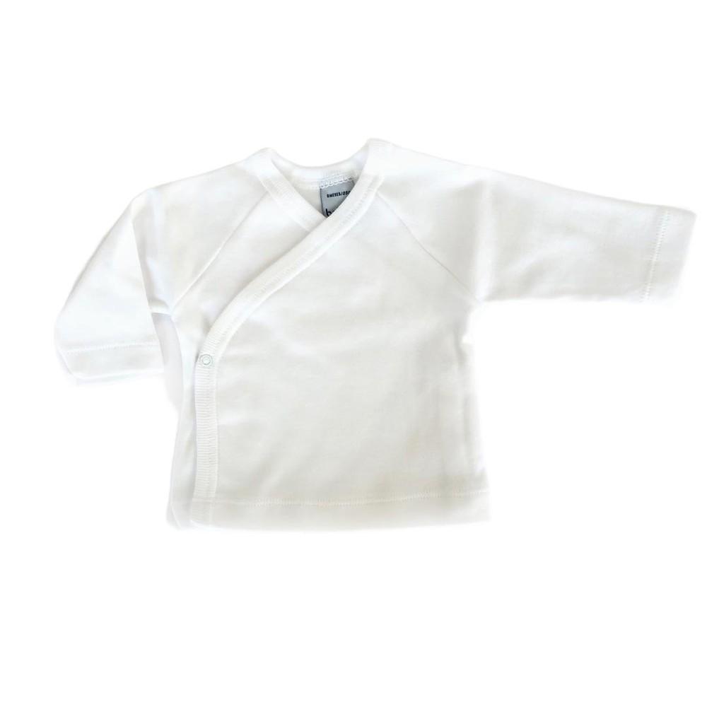 Camiseta o jubón de algodón unisex blanco 1m 1M