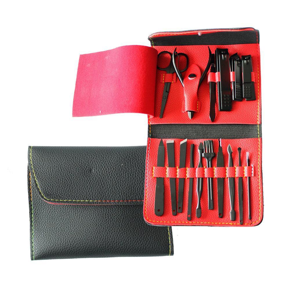 Set de manicure y pedicure profesional Caja