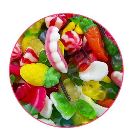 Mélange bonbons gelée