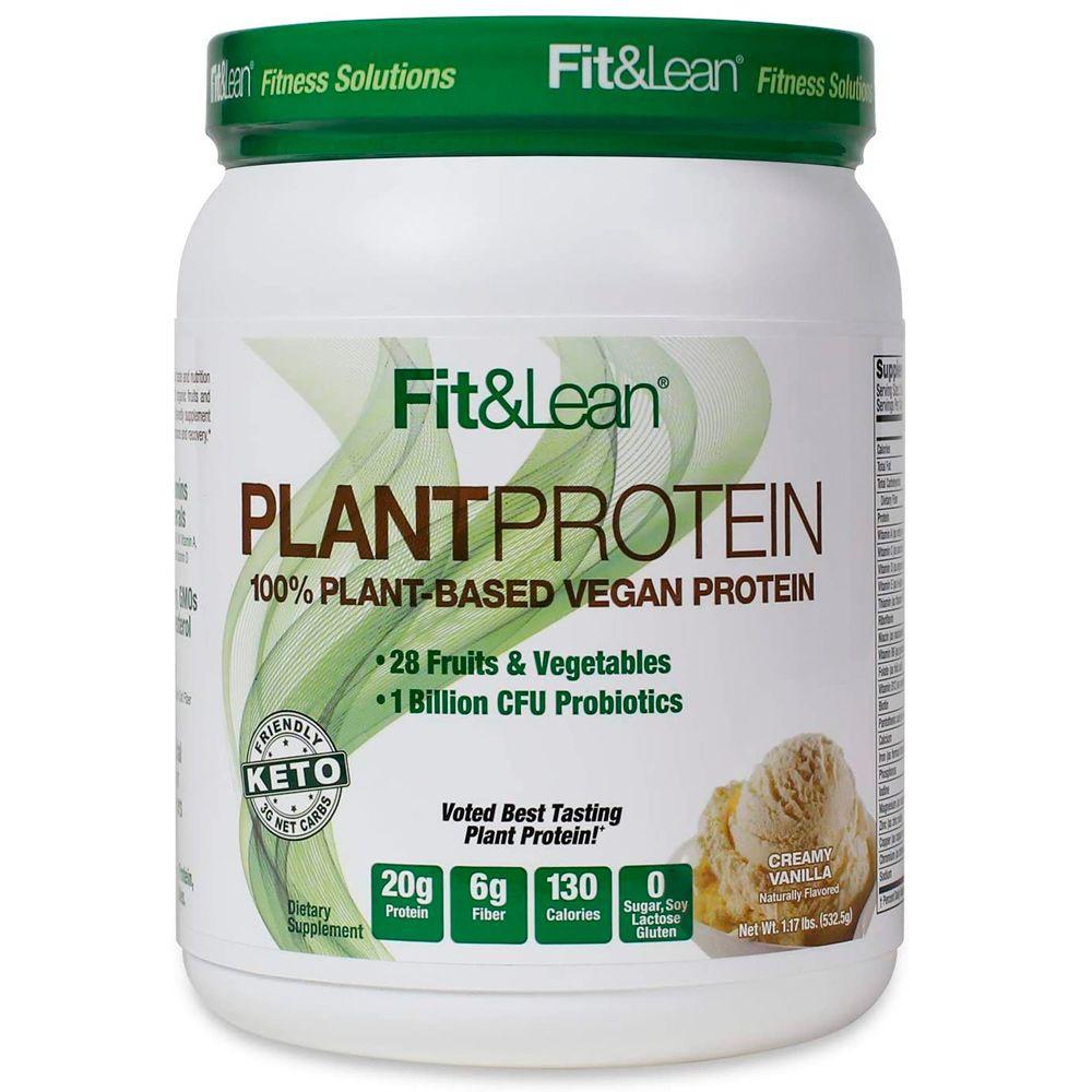 Plant protein sabor creamy vainilla