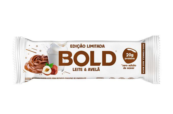 Bold bar leite & avelã