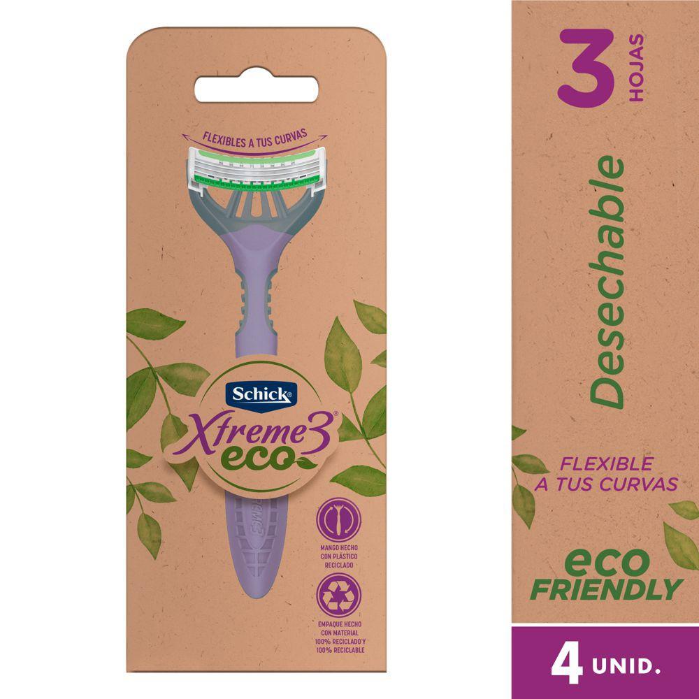 Máquina afeitar femenina Xtreme Eco