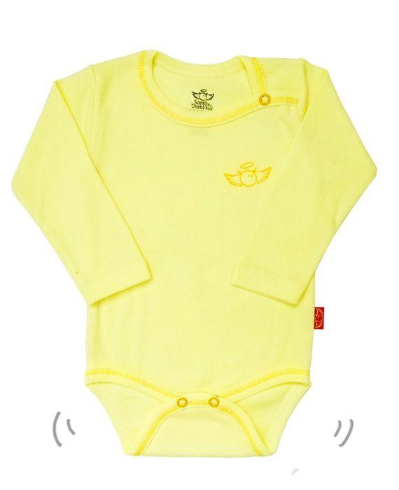 Pilucho básico amarillo suave 0-3 meses