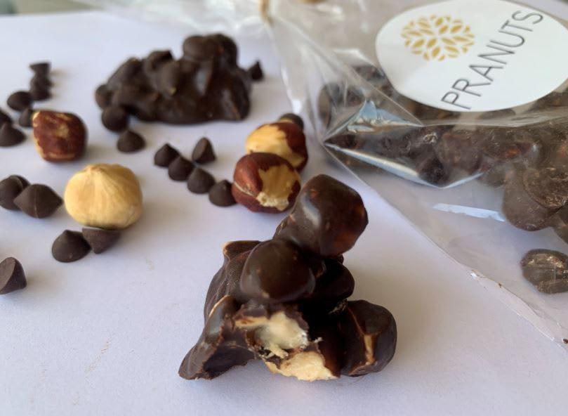 Trozos avellana cacao Unidad