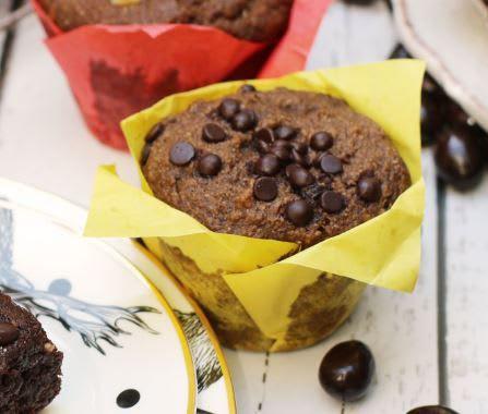 Muffin vegano plátano chip de chocolate Unidad
