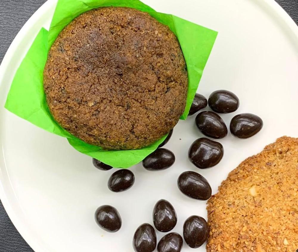 Muffin vegano arándano Unidad