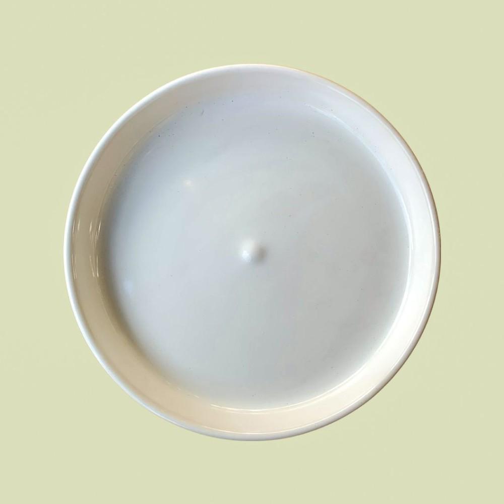 Plato macetero james blanco s