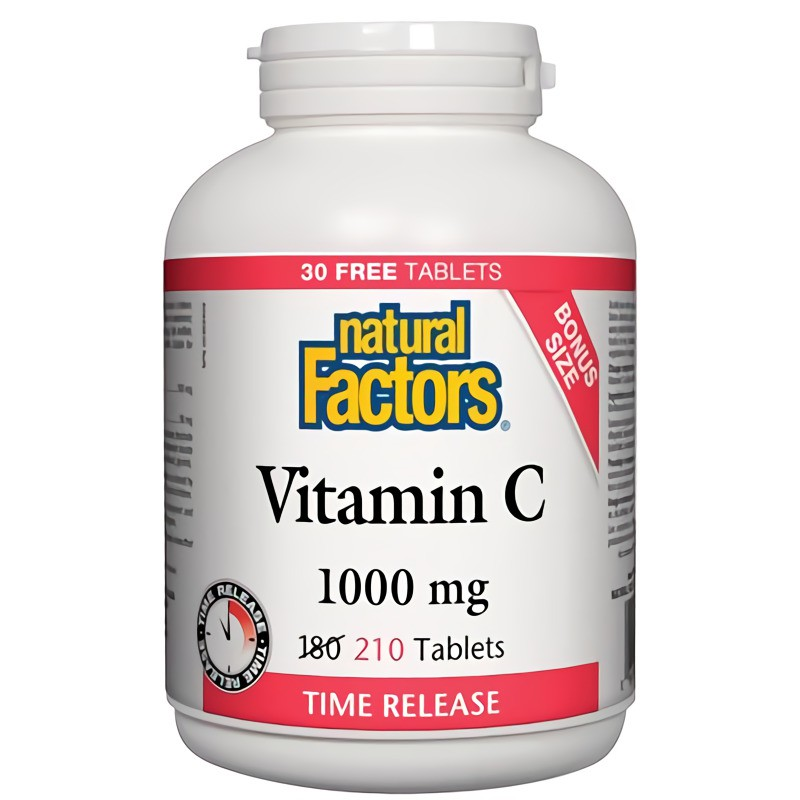 Vitamin C time release tablets 1000 mg