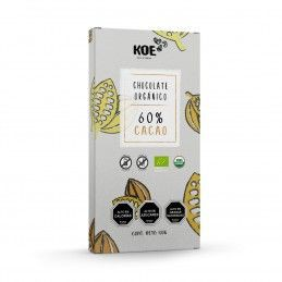 Chocolate orgánico 60% cacao