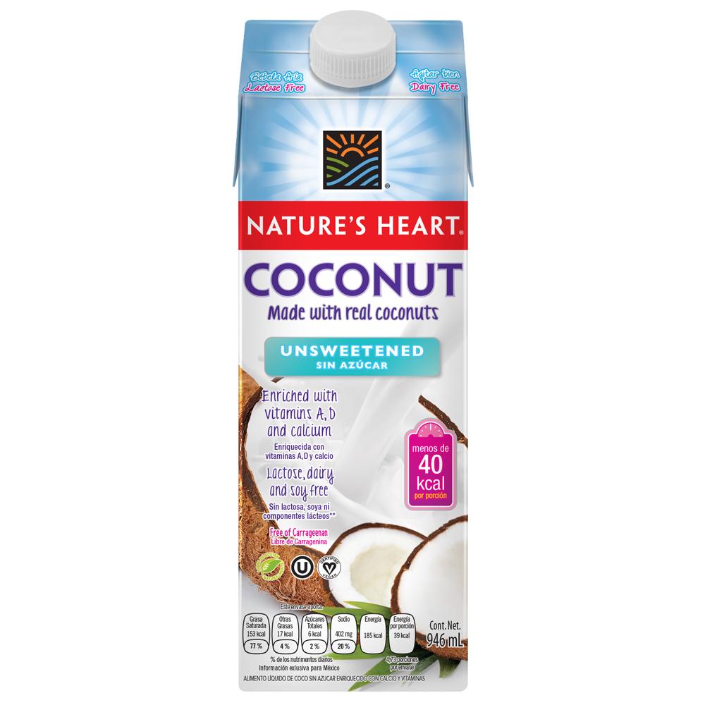 Bebida de coco sin azúcar