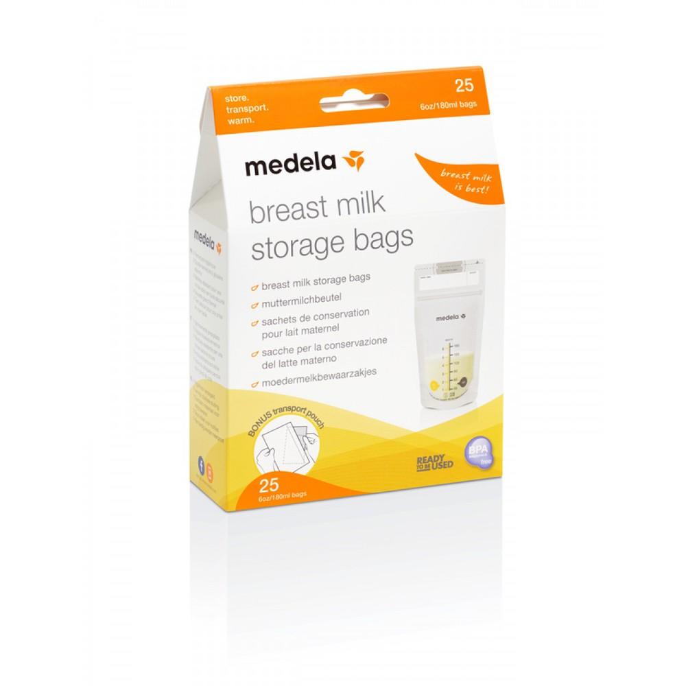 Bolsa para almacenar leche