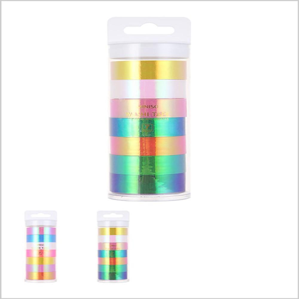 Cinta adhesiva colores mixtos