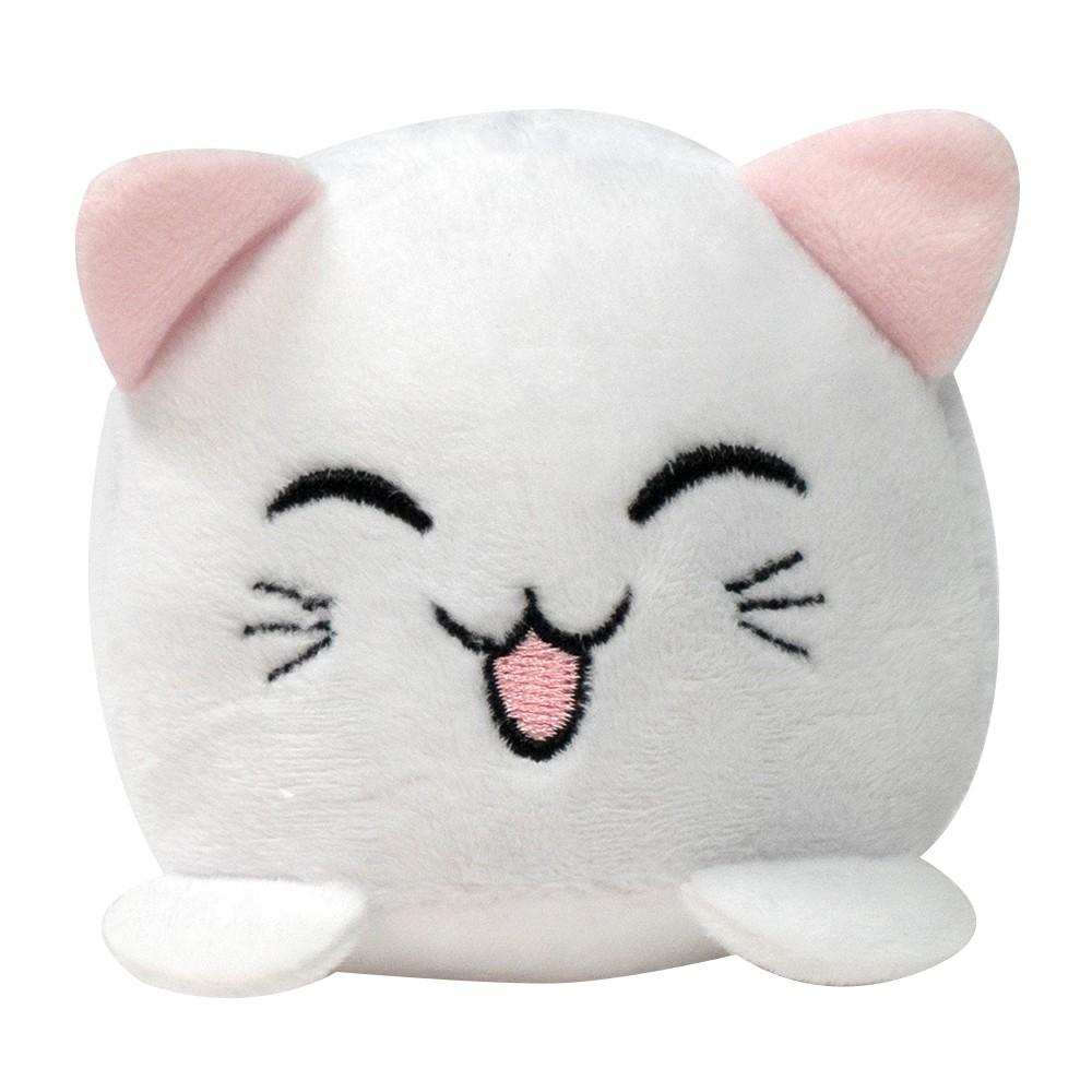 Peluche gatito sonriente con sonido blanco
