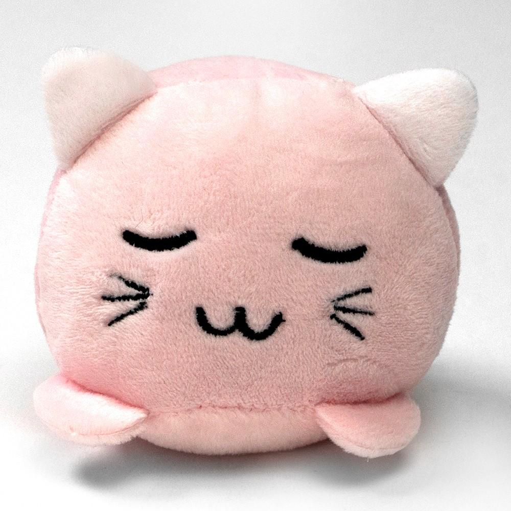 Peluche gatito sonriente con sonido rosa 1 u