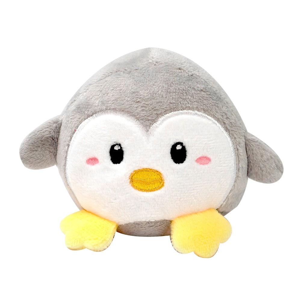 Peluche pingüino con sonido gris 1 u