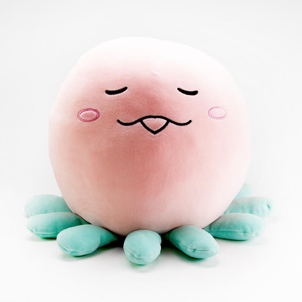 Peluche medusa rosa