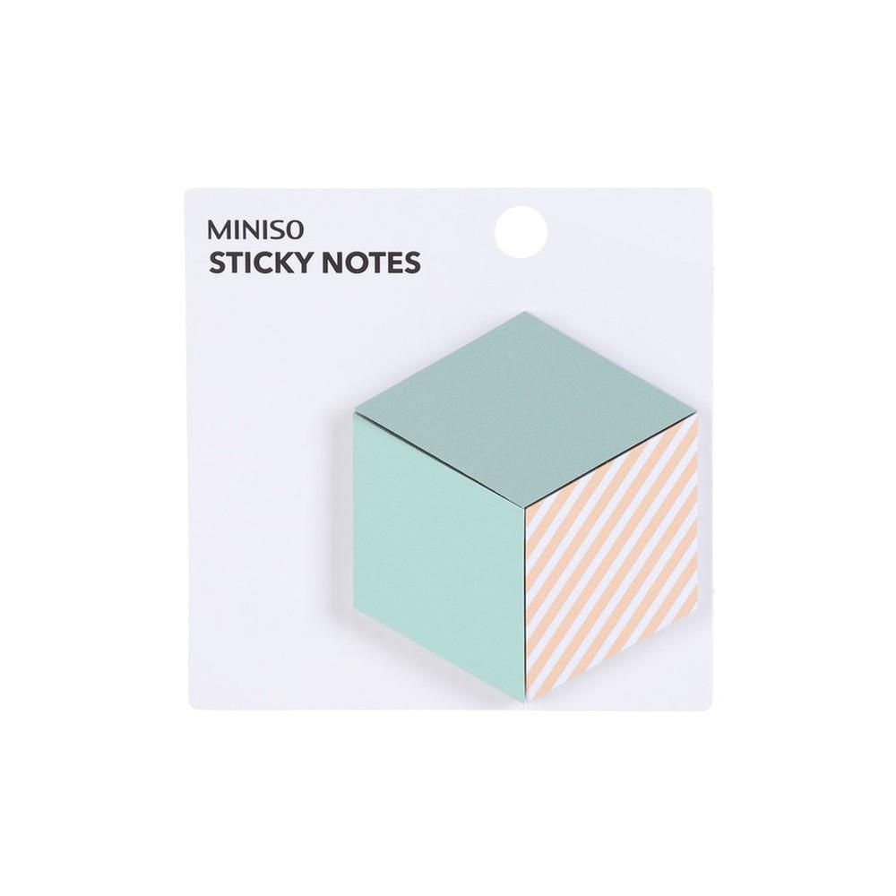 Paquete notas adhesivas cuadradas 3 u