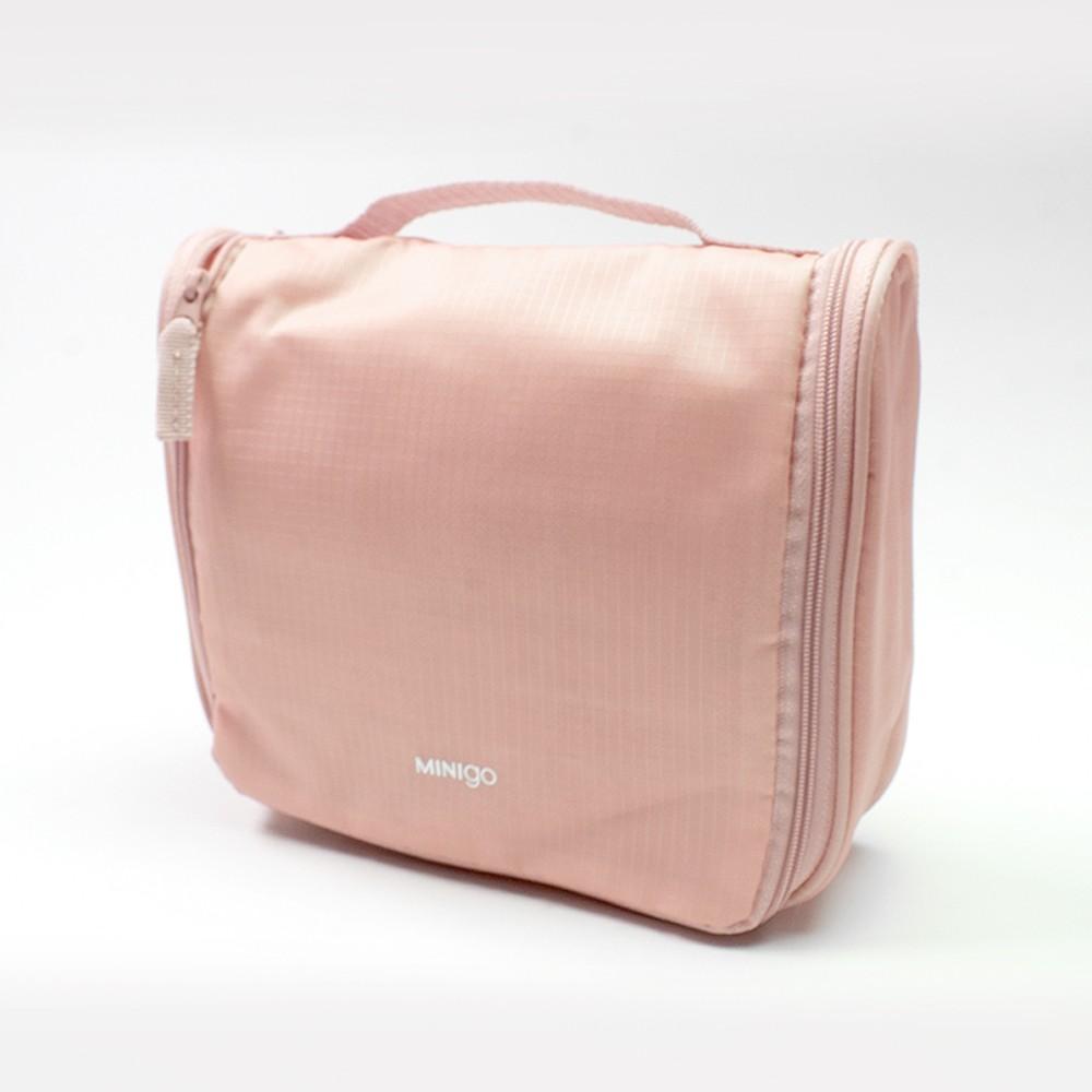 Neceser de viaje rosa