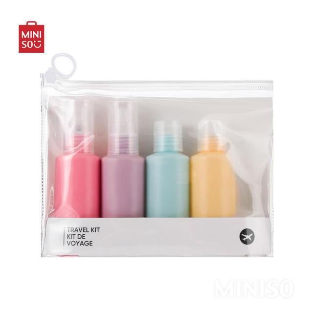 Set botellas de viaje colores