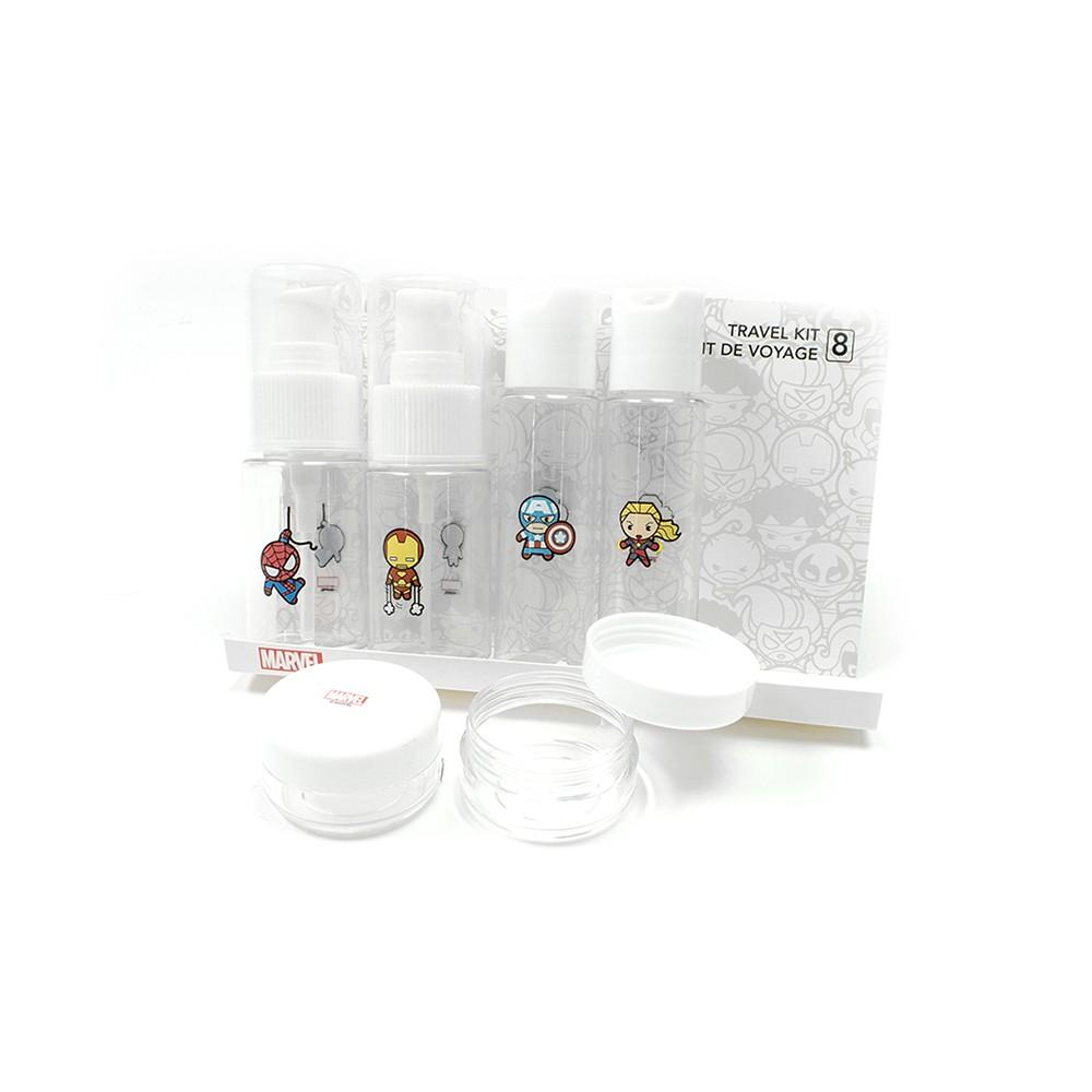 Set botellas de viaje Marvel blanco 1 set