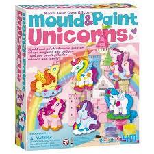 Moldea y pinta unicornio + de 5 años