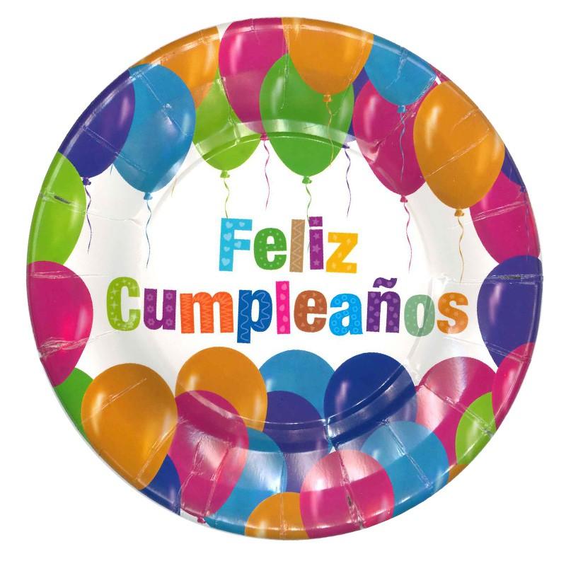 Plato feliz cumpleaños