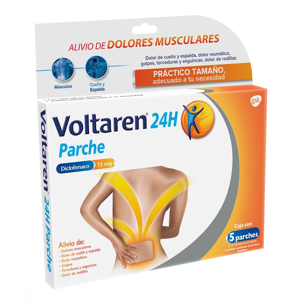 Parches chicos diclofenaco 15 mg