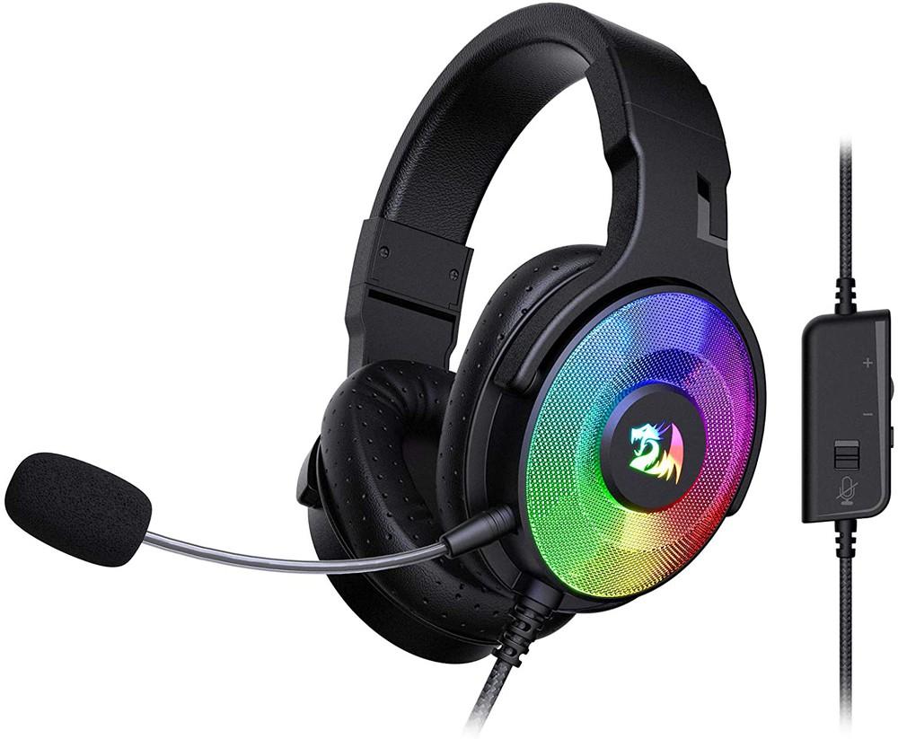 Audifono gamer pandora iluminacion RGB