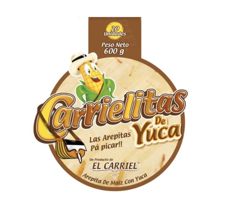 Carrielitas de yuca