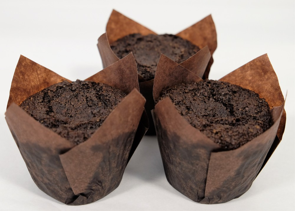 Caja chocolate vegano y sin trigo. Caja 9 quequitos, 80 grs. cada uno.