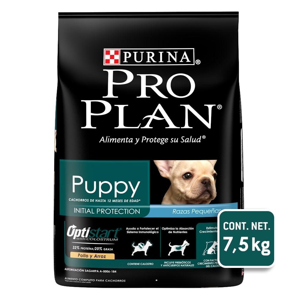 Alimento para perro puppy con optistart small breed