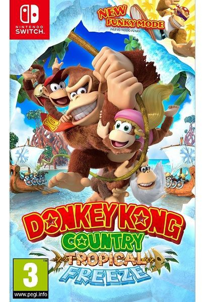 Donkey  kong country tropical freeze fisico
