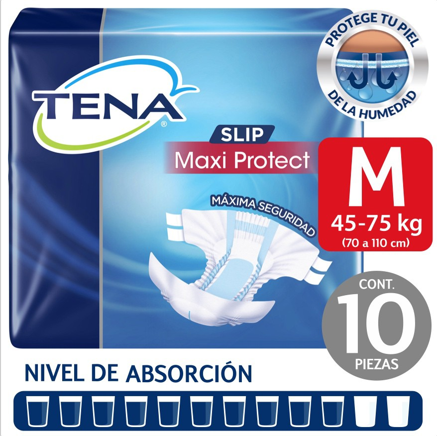 Pañal para adulto Slip maxi protect talla M