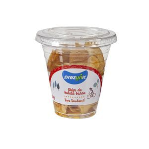 Chips de batata baroa desidratada