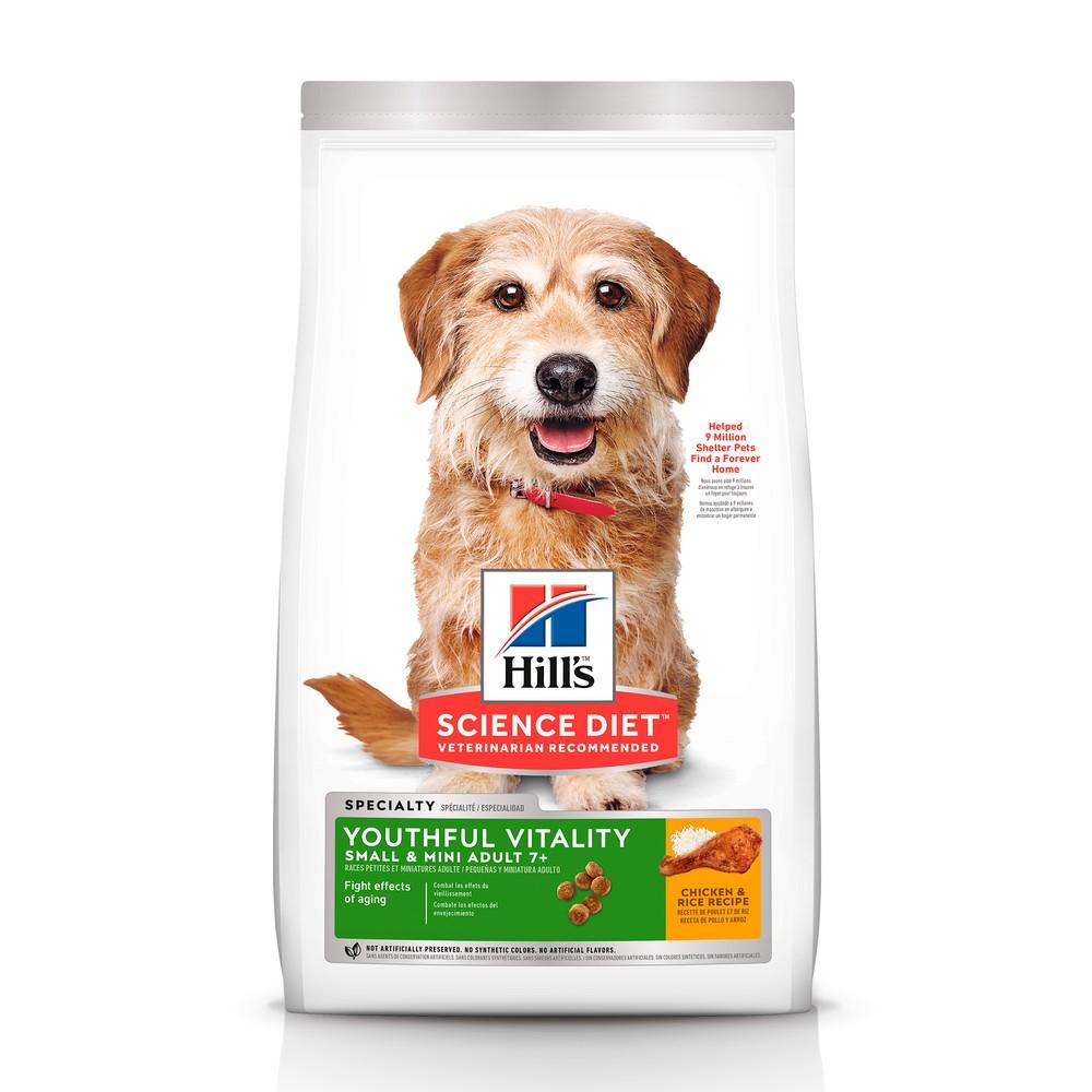 Alimento perro adulto 7+ años Youthful Vitality small bites