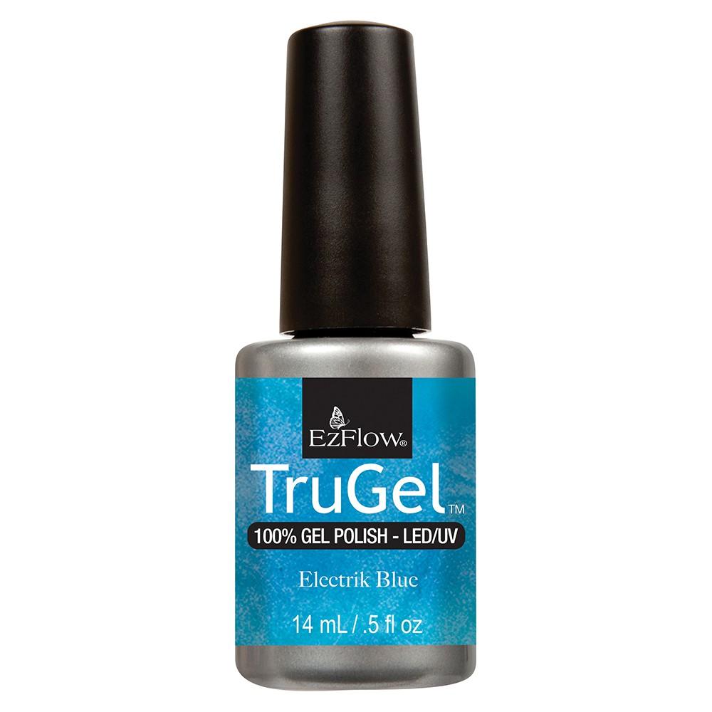 Esmalte de uñas permanente color electrik blue