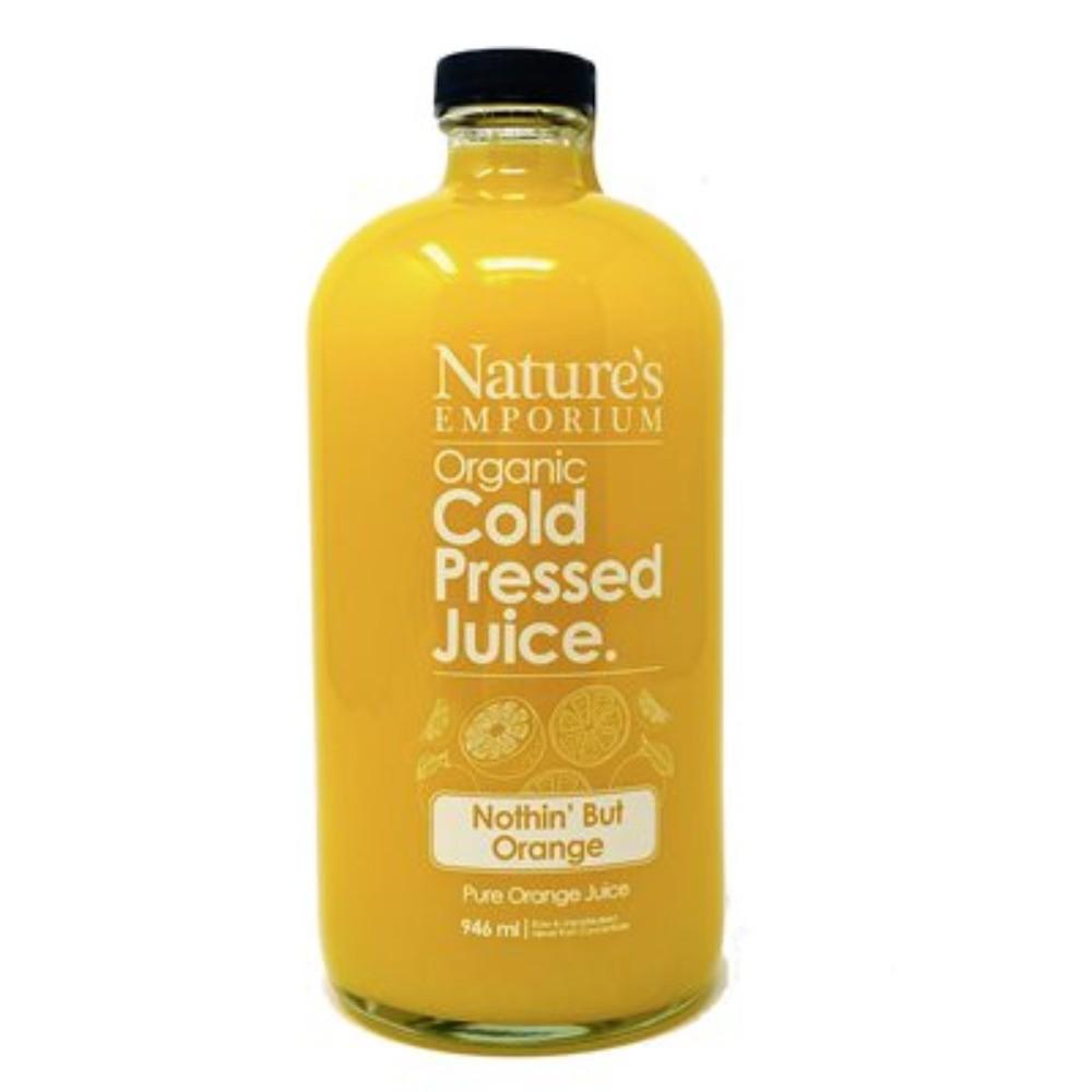 Nothin' but orange cold pressed juice 946 mL