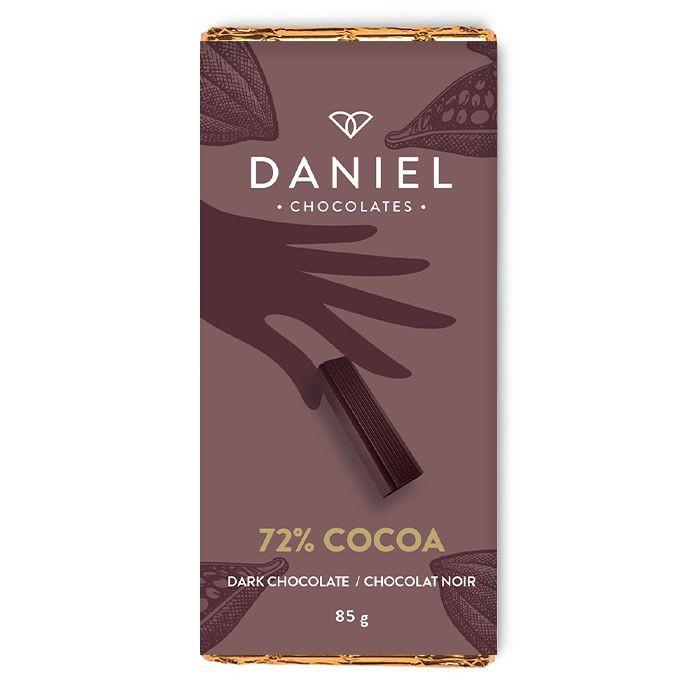 72% dark chocolate bar 85g