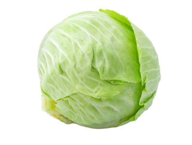 Green cabbage Organic By the pound