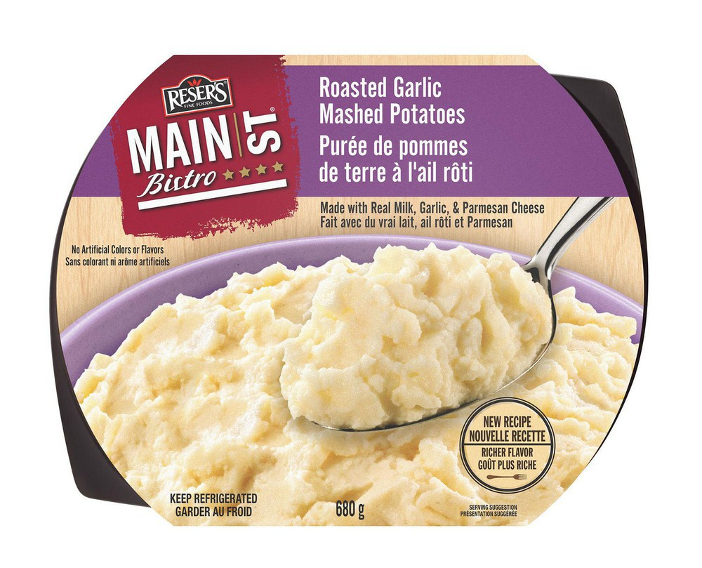 Reser's fine foods sensational sides garlic mashed potatoes