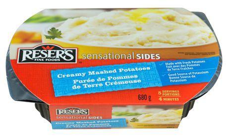 Reser's fine foods sensational sides creamy mashed potatoes sides