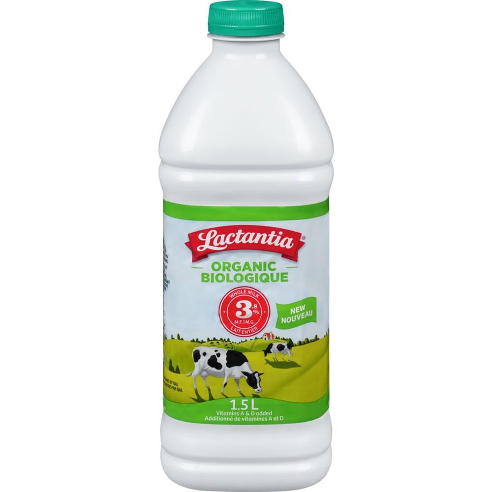Organic homogenized milk 3.25%