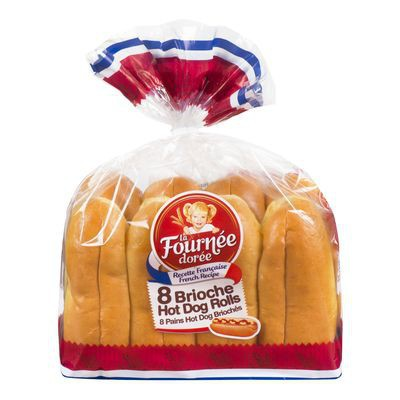 Brioche hot dog rolls