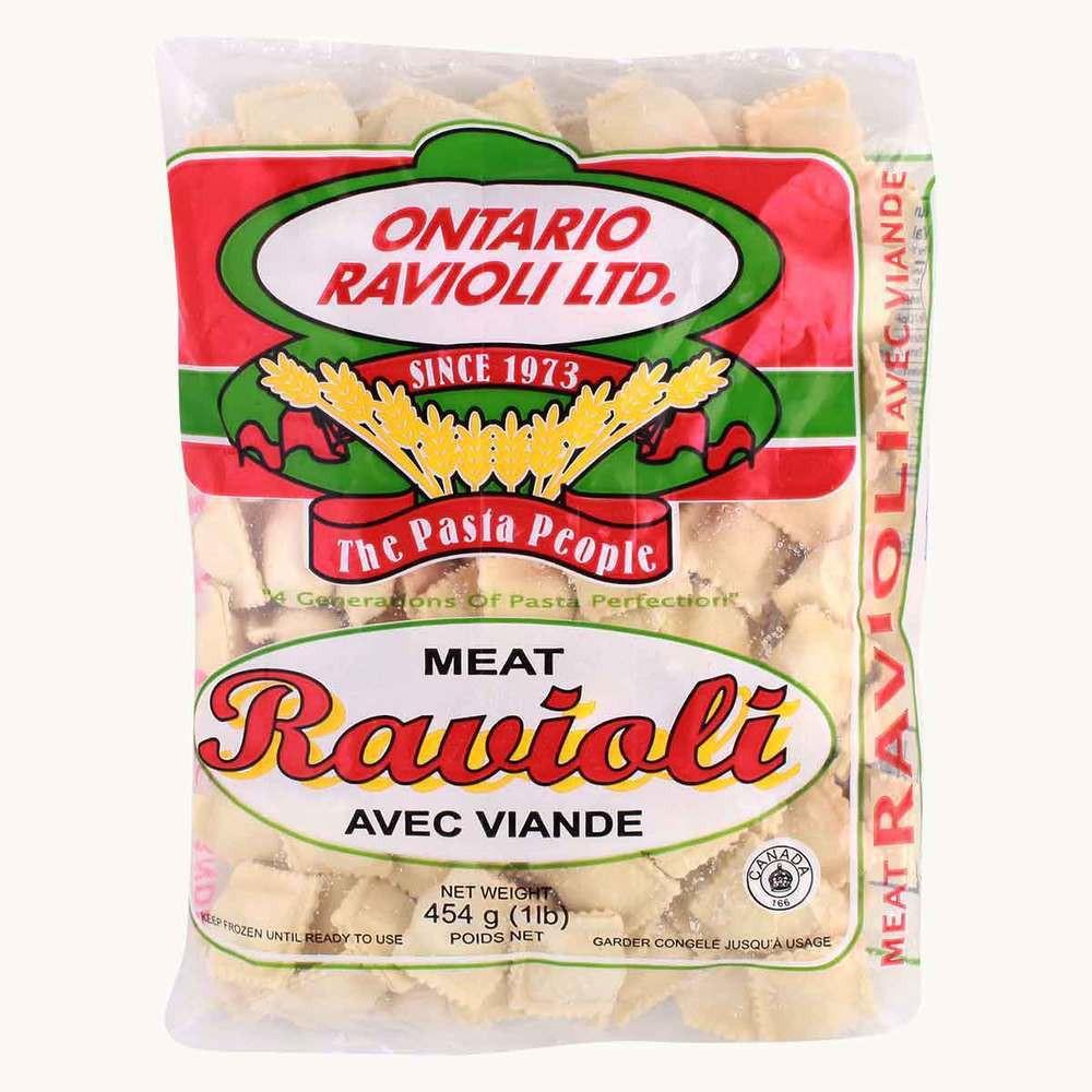 Ontario ravioli ltd. meat ravioli